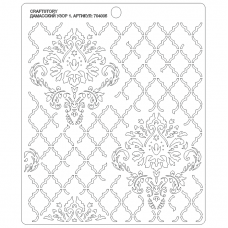 Stencil Damask pattern 1