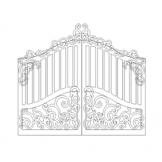 Cover art for the album Gate