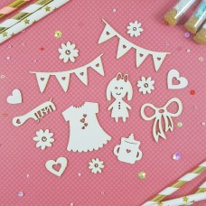 Chipboard Baby kit 2