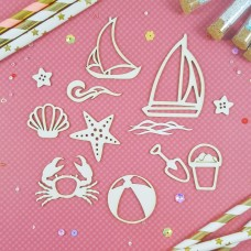 Chipboard Children's sea set