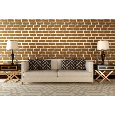 Stencil for walls - Old brick