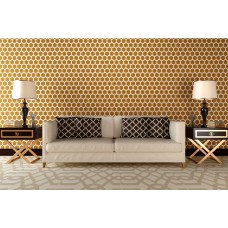 Stencil for walls - Honeycomb