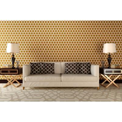 Stencil for walls - Honeycomb