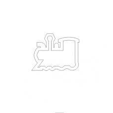 Shaker Steam Locomotive (mini)