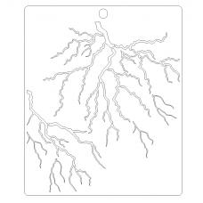 Stencil Lightning (or wood)