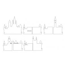 Castle Album Template (Hogwarts)