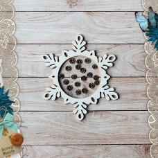 Shaker Scandi New Year. Snowflake