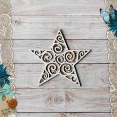 Shaker Scandi New Year. Star
