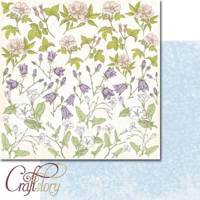 Paper Wildflowers 12 x 12 inch (30,5cm x 30,5cm)