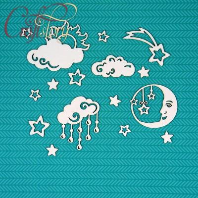 Chipboard Starry sky