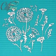 Chipboard Dandelions