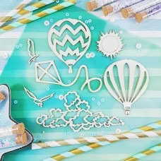 Chipboard Balloons