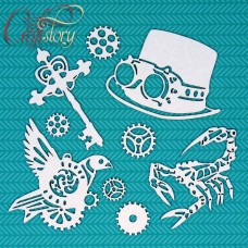 Chipboard Steampunk 1