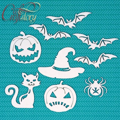Chipboard Halloween