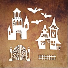 Chipboard Mysterious Castle