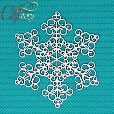 Chipboard Snowflake