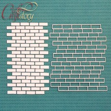 Chipboard Background Brick