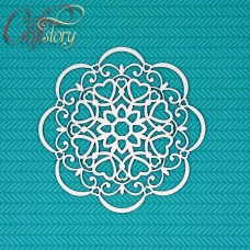 Chipboard Doily Eliza