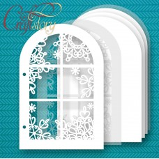 Base for album Winter window