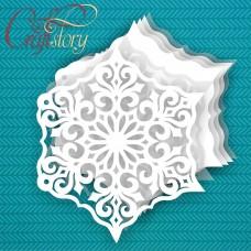 Base for album Snowflake 1
