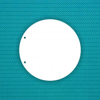 Base Circle (2 holes)
