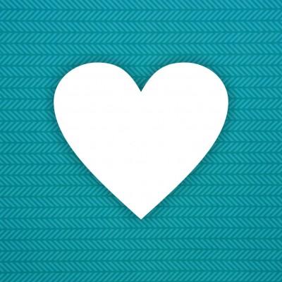 Album blank Heart - 6pcs
