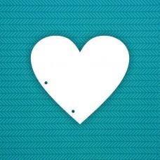 Base Heart (2 holes)
