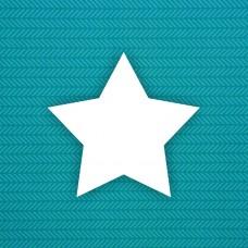 Album blank Star (sharp) - 6pcs.