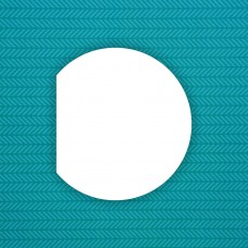 Album blank Semi-circle - 6 pcs.