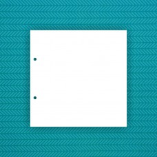 Album blank 20x20cm (2 holes) - 6pcs