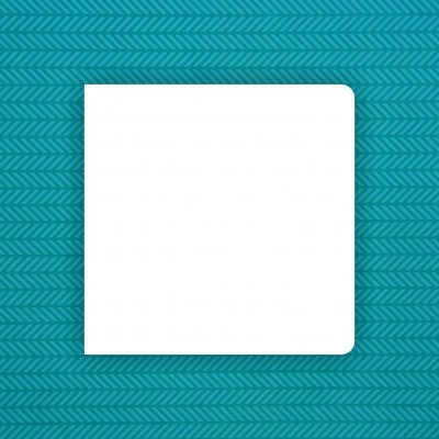 Album blank 20x20 cm with 2 rounded corners - 6 pcs.