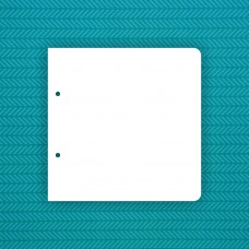 Base 20x20cm with 2 rounded corners (2 holes)