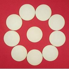 Circles 1, 10 pcs