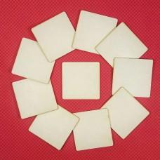 Squares, 10 pcs