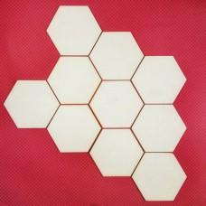 Polygons, 10 pcs