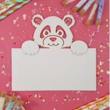 Stamping blank Panda
