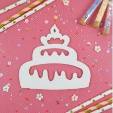 Stamping blank Cake