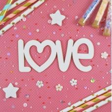 Stamping blank Love