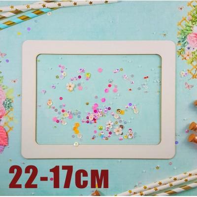 Frame Rectangle 22cm-17cm