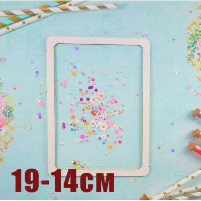 Frame Rectangle 19cm -14m