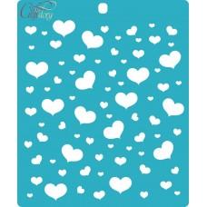 Stencil Air hearts