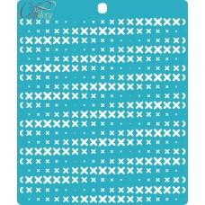 Stencil Cross stitch