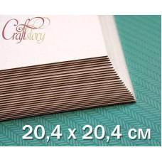 Cardboard 20.4 x 20.4 cm (8 x 8 inch)