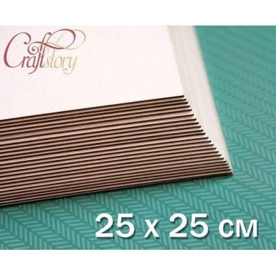 Cardboard 25 x 25 cm