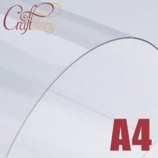 Plastic sheet (transparent) A4 (3 pcs.) 0,3 mm