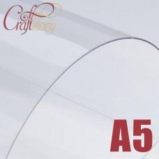 Plastic sheet (transparent) A5 (3 pcs.) 0,3 mm