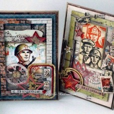 Chipboard Inscriptions On May 9th! 1 (rus)