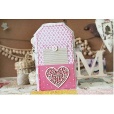 Chipboard Set hearts Summer