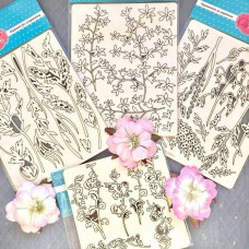 Chipboard Wildflowers 2