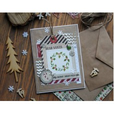 Chipboard Christmas Night